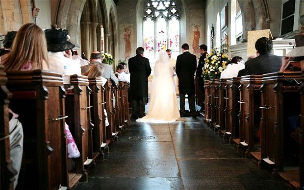 wedding ceremony - church