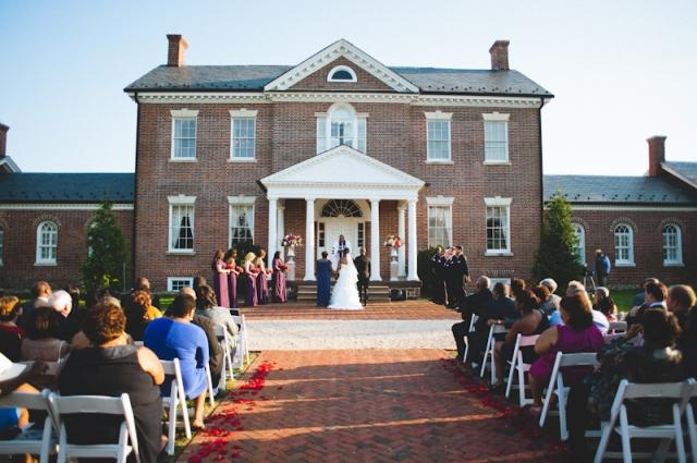 wedding ceremony -home