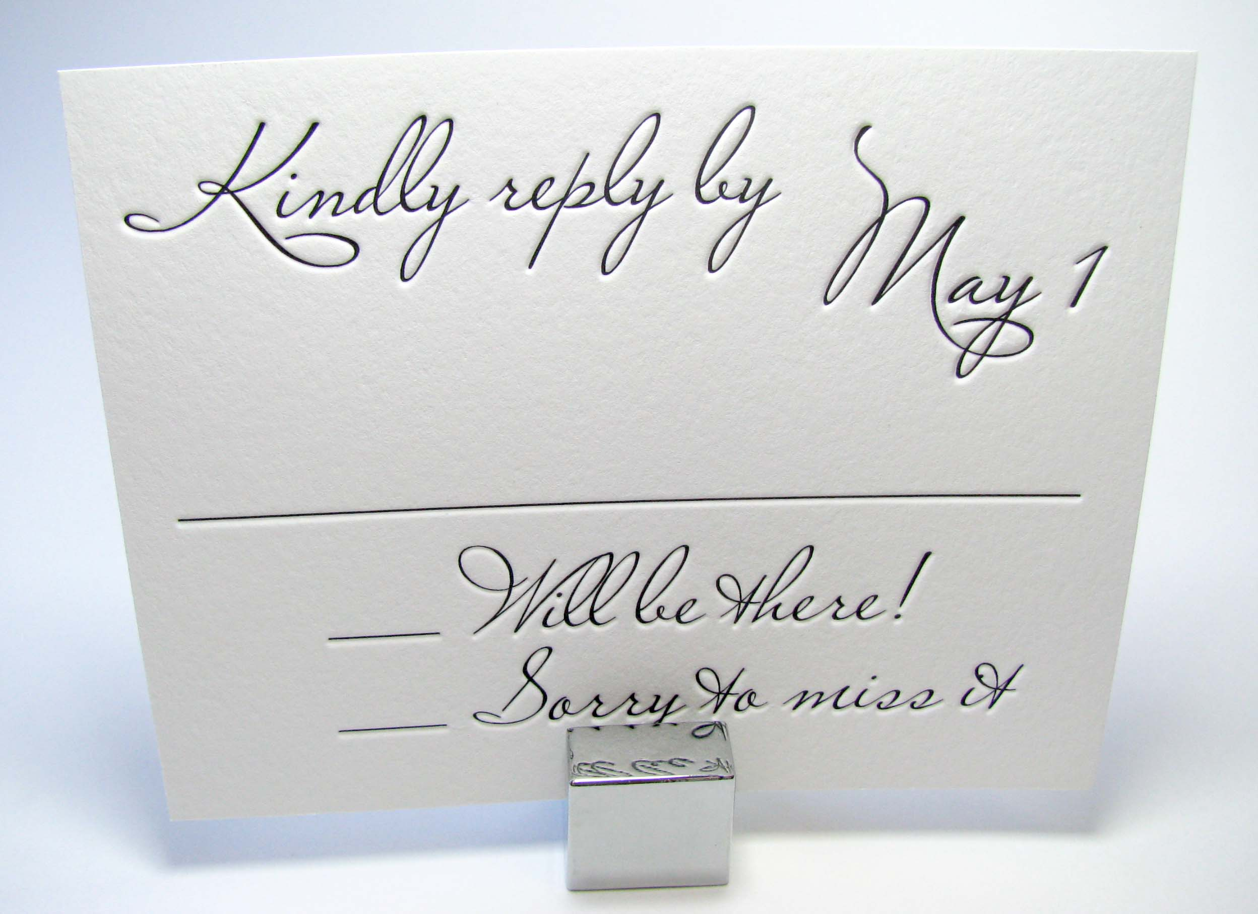 Why You Must Number Your RSVP Cards! | NYC Wedding Blog | NY ...