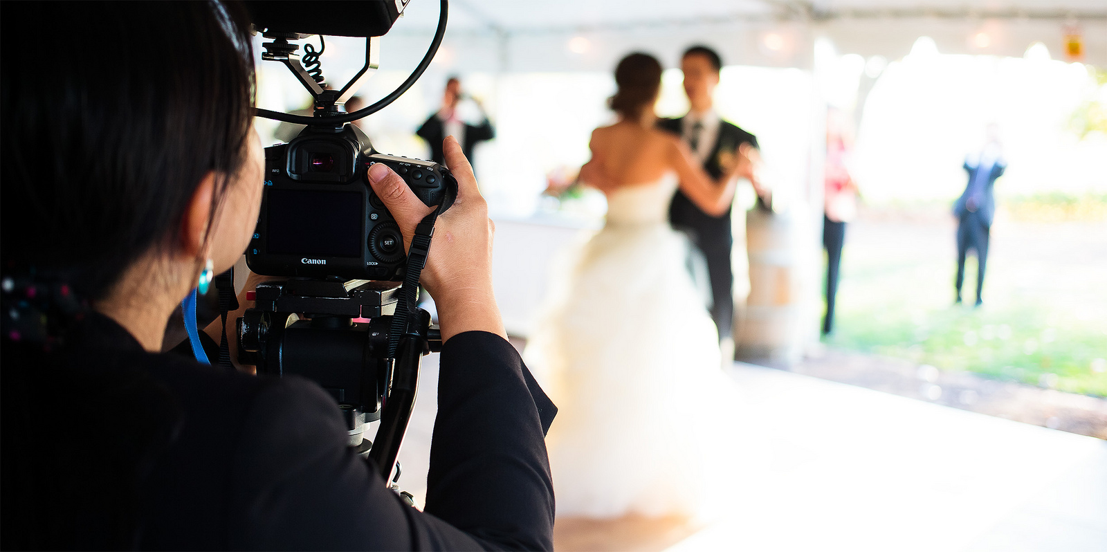lights camera action selecting the best wedding