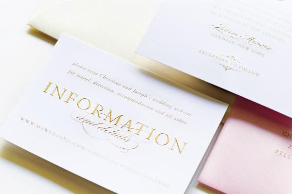 Hot Off The Press Printing Your Wedding Invitations NYC Wedding - Engraved wedding invitations